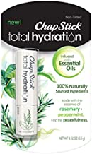 ChapStick Total Hydration Essential Oils Lip Balm Peace Rosemary + Peppermint (0.12 oz Tube)