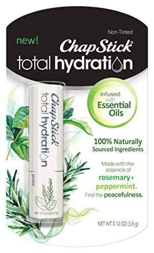 ChapStick Total Hydration Essential Oils Lip Balm Peace Rosemary +...