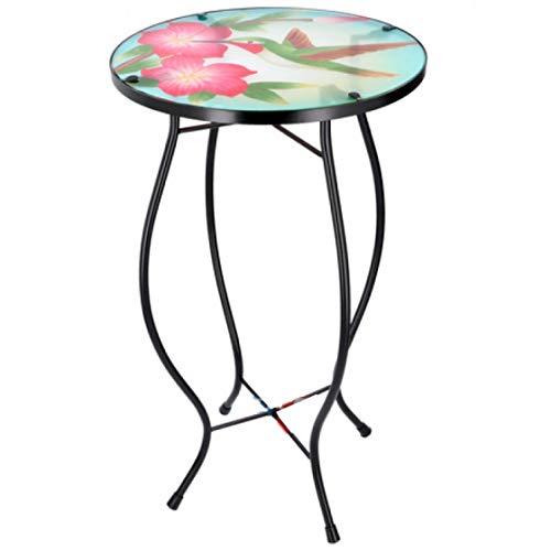 ArtiCasa mosaik-Tisch Vogel Mehrfarbig 30x30x54 cm
