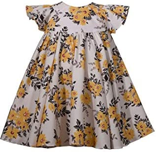 Bonnie Jean Girl s Dress Yellow Floral for Baby and Toddler 3 6 Months product image