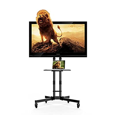 Fleximounts Mobile TV Stand for 32-65 Inch Flat...