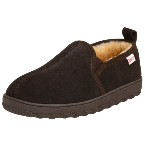 Tamarac by Slippers International Men's Cody Sheepskin Slipper,Rootbeer,11 M US