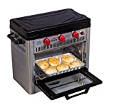 Camp Chef Outdoor Camp Oven with Thermostat, Insulated Oven Box, Matchless Ignition - Stainless...