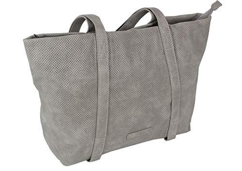 Jennifer Jones Edle Damen Handtasche Shopper Schultertasche mit 2 Henkeln Tragetasche Groß
