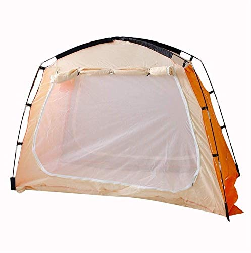 GAOLIGUO Carpa Cabina para Acampar, 1-2 Carpa Persona Dome con Bolsa de Transporte y Rainfly Ligero Mochilero Carpa para Acampar/Senderismo/Festivales al Aire Libre,1