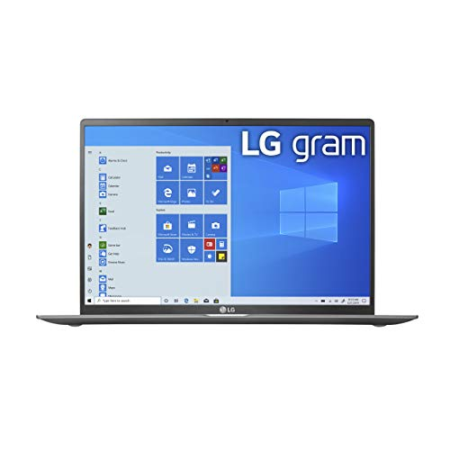 LG Gram Laptop 17Inch IPS WQXGA 2560 x 1600 Intel 10th Gen Core i7 1065G7 CPU, 16GB RAM, 1TB M.2 NVMe SSD 512GB x2, 17 Hour Battery, Thunderbolt 3 17Z90N 2020