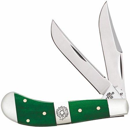 Case Cutlery ca65585, Couteau de Poche Unisexe – Adulte, Vert, Taille Unique
