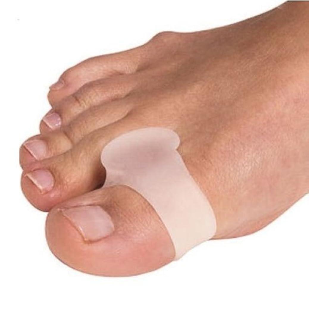 フォアマン嬉しいです容赦ない外反母趾用足指スペーサー 固定リング付き(P27-M)