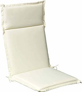 PAPILLON 8097015 Cojín para Sillón Alto 119x52x5 cm. Beige Desenfundable