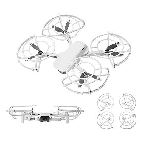 DJFEI Mavic Mini 2 Copertura Protettiva per elica, 4Pcs Puntelli a sgancio rapido Protezioni eliche Anello di Protezione per DJI Mavic Mini 2 Drone