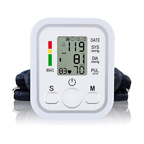 ZUEN Blutdruckmessgerät Handgelenk, Blutdruckmessgerät für den Heimgebrauch Oberarm-Blutdruckmessgerät Digitales Tonometer zur Messung des Herzschlags Messgerät Maschine