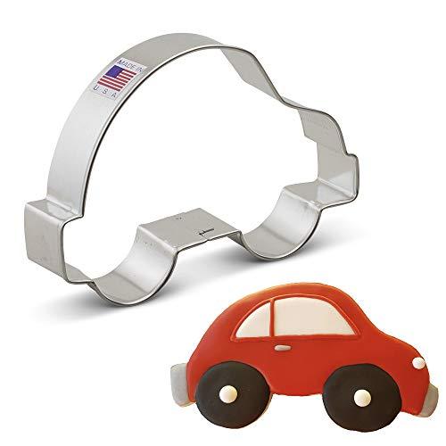 Ann Clark Cookie Cutters Small Car Cookie Cutter, 4.75'