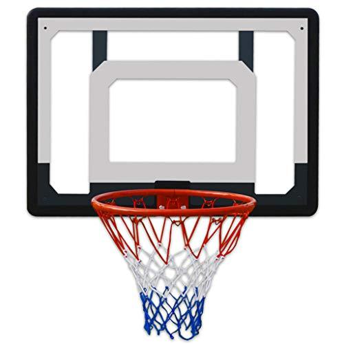 WFWT Junior Niños 82x58cmBasketball aro, montado en la Pared de Baloncesto Tablero de Baloncesto de la Juventud Soporte con el Gancho