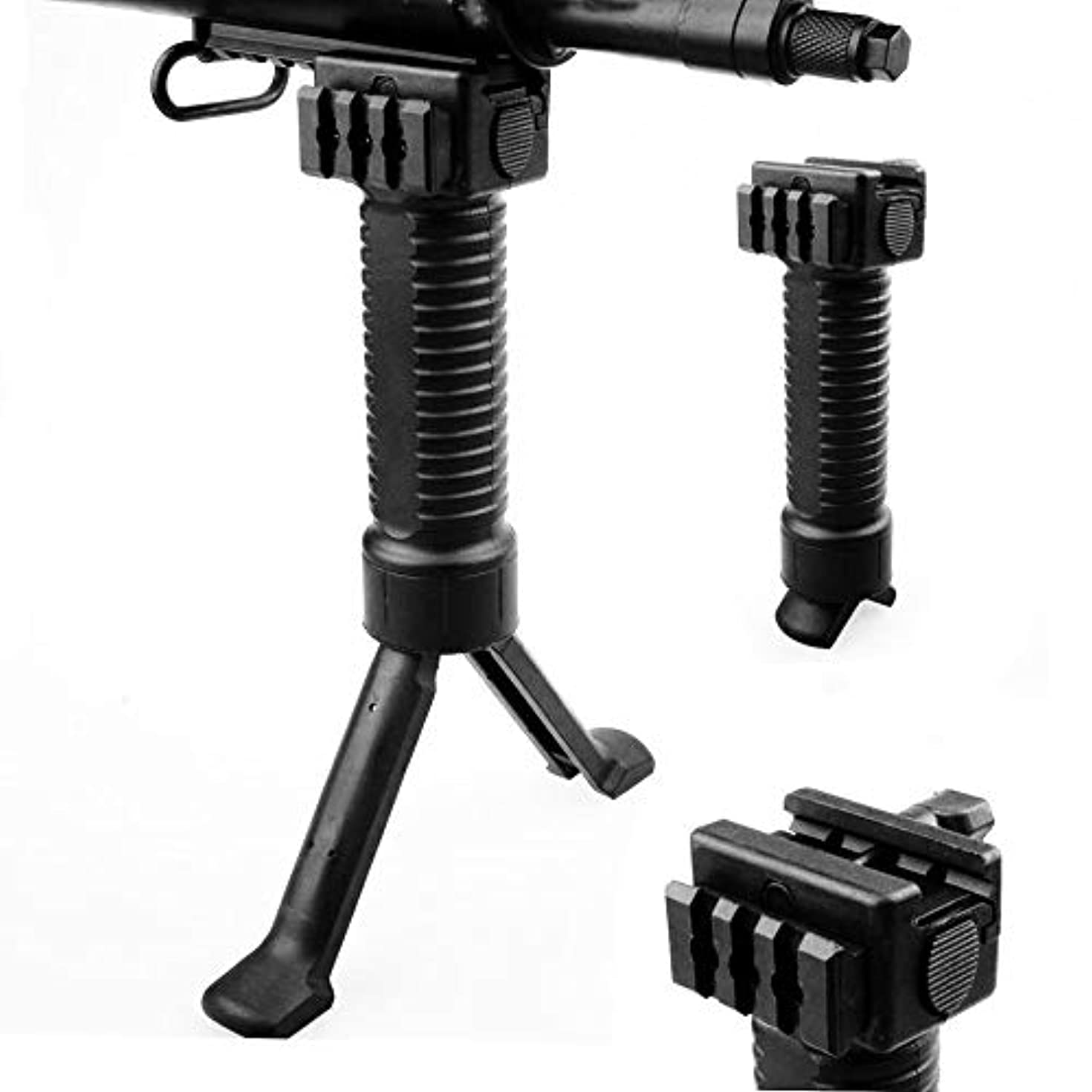 Toycamp Camera Grip Stabilizer Holder for Filming Accessories 20mm Length Guide Handle Mount for M4 Blaster