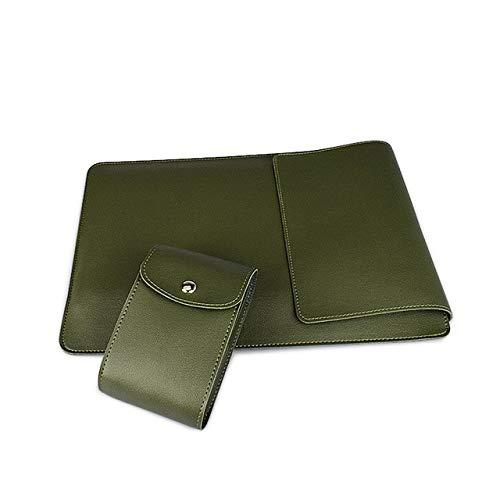 Funda de piel sintética para MacBook Air Pro 13 15 Notebook Bag Para Xiaomi HP Dell 13.3 14.1 15.4 pulgadas Laptop Case