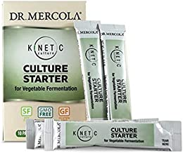 Dr. Mercola Kinetic Culture Packets for Vegetables, 10 Packets, non GMO, Soy Free, Gluten Free