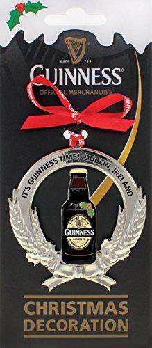 Guinness-Flasche und Gerste Weihnachtsbaum-Dekoration
