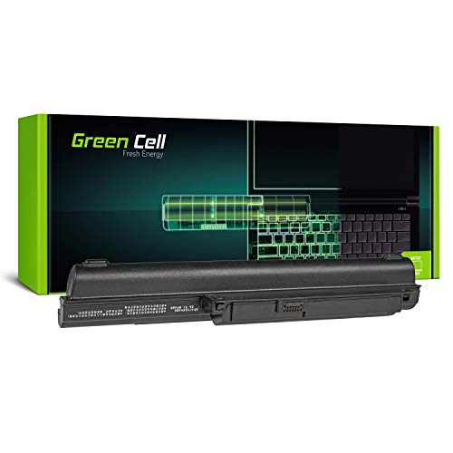 Green Cell Extended Serie VGP-BPS22 VGP-BPS22A VGP-BPL22 Batteria per laptop Sony Vaio PCG-61211M PCG-61611M PCG-71211M PCG-71211V PCG-71212M (9 Celle 6600mAh 11.1V Nero)