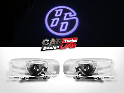 2 CREE-LED-Innenleuchten, Einstiegsbeleuchtung, Laser-Schattenlicht