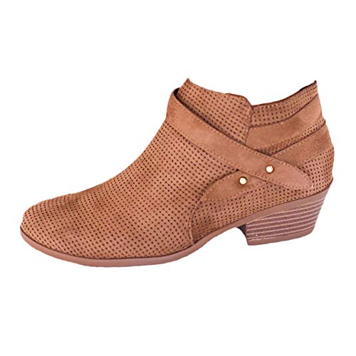 BeautyVan Alpargatas de cuña con hebilla de cuña para mujer, sandalias planas con puntera abierta, zapatos de vestir clásicos...