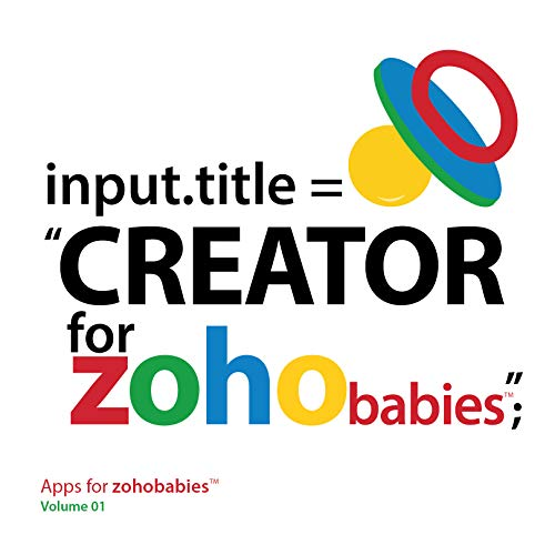 Creator for Zoho babies