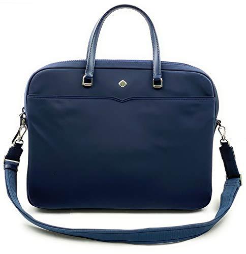 Kate Spade New York Laptop Tote Bag, Fits 15 Inch Laptop, Womens Lightweight Nylon Tote Bag Shoulder Bag (Nightcap)