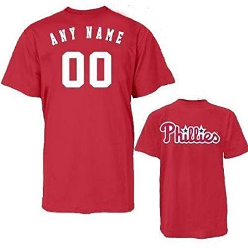 Majestic Athletic Philadelphia Phillies Personalized Replica Major League Baseball Jersey