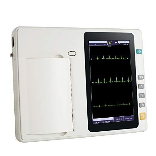 Funwill ECG/EKG Machine Électrocardiographe Numérique Portable...