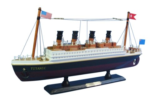 """Hampton Nautical RMS Titanic Cruise Ship, 14"""""""