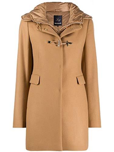 Fay Luxury Fashion Donna NAW59413430SGLC811 Marrone Lana Cappotto |...
