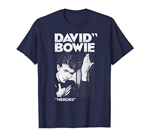 David Bowie - Bold Heroes Camiseta