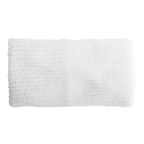 Casinlog Banda de sudor profesional de algodón para yoga, 15,24 cm