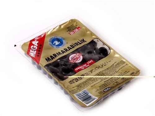 Gemlik Type specialty shop Black Mail order Olives – 1.1lb MEGA 500g
