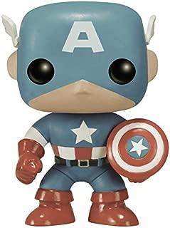 Funko POP Marvel: Captain America Sepia Tone 75th Anniversary Action Figure (Amazon Exclusive)