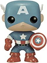 Funko POP Marvel: Captain America Sepia Tone 75th Anniversary Action Figure (Amazon Exclusive)