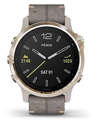 GARMIN Fenix 6S Sapphire 010-02159-40 Damen Smartwatch Uhr