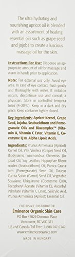 Eminence Apricot Body Oil, 8.2 Ounce