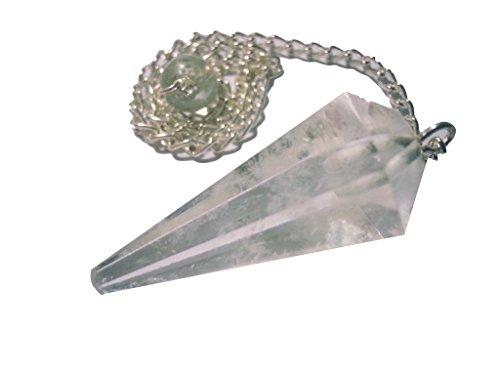 Edelstein Pendel Amethyst Bergkristall Aventurin uvm. (Bergkristall)