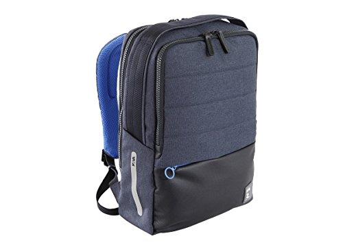 NAVA Zaino Porta Computer e Porta Tablet Colore Blu/Azzurro