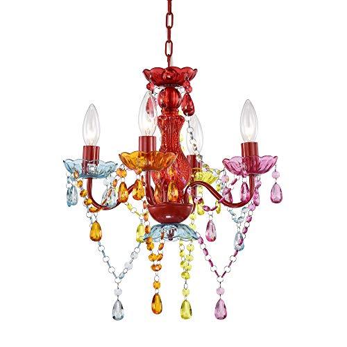 Mini Chandelier Crystal Chandelier Lighting Red Chandeliers...