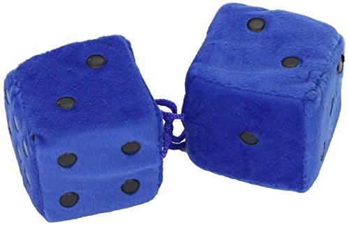 Sumex DADOS30 Dados Azules/Puntos Negro Decorativos, 7X7 cm