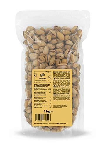 KoRo - Pistazien Mit Schale 1 kg - Schonend geröstete und gesalzene Pistazienkerne in der Vorteilspackung