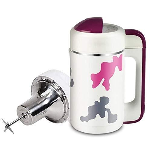 BGSFF Haushalts-Mini-Sojabohnenmilch-Maschinenautomatisierung Sojamilchhersteller Marmeladenmilch-Shake-Brei-Maschine Getreidemahlsaftpresse (Farbe: B)