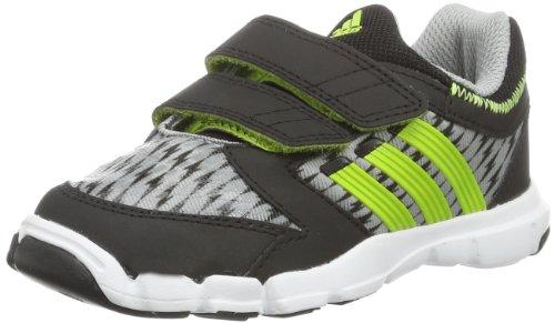 adidas Baby Jungen Adipure Trainer 360 CF Sneaker, Grau (Mid Grey S14/Solar Slime/Black 1), 21 EU