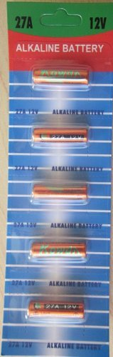 70 pcs 27A Card 12V Alkaline Battery Compatible with 27 G27A MN27 GP27A A27 L828 EL812 EL-812 CA22 B-1 SNN4176A ALK27A A27BP K27A V27GA VA27GA VR27 MN27 MS27 R27A plus Hillflower Coupon