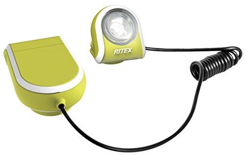 ムサシ RITEX どこでもクリップライト(LED) 乾電池式 イエロー AL-170Y