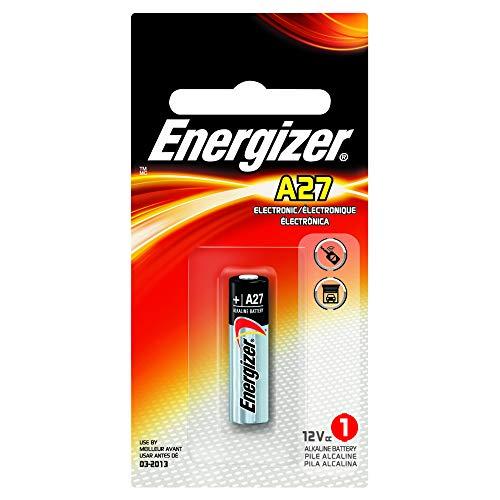 4 Energizer A27 / 27A / MN27 12 Volt Alkaline Alkali Batterien, 4 x 1-er Pack, Lange Haltbarkeit (Haltbarkeitsdatum markiert)
