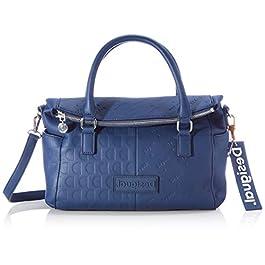 Desigual Accessories PU Hand Bag, Sac à Main. Femme, Taille Unique