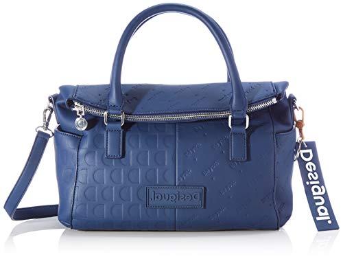 Desigual Accessories PU Hand Bag, Borsa a Mano. Donna, Blu, U