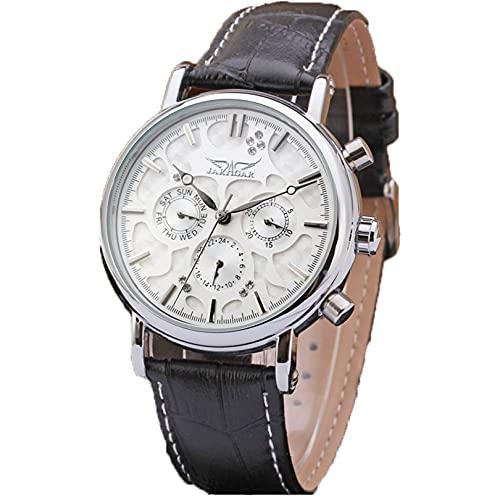 Excellent Relojes Moda Moda Mecánica Mecánica Hombres Reloj de Pulsera de Negocios a Prueba de Agua para Hombres,A05